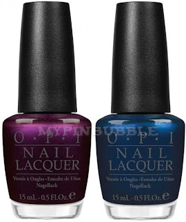 OPI Every months is oktoberfest OPI Unfor-greta bly blue