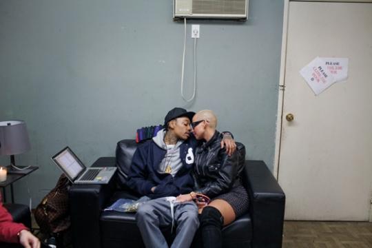 wiz khalifa and amber rose. Wiz Khalifa amp; Amber Rose FADER