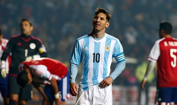 FT: Argentina 6-1 Paraguay Copa America 2015