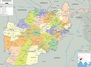 Mapa do Afeganistão (mapa do afeganistan )