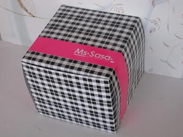 กล่องเค้กพิมพ์ 2 สี