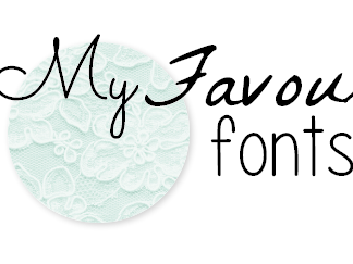 My favourite fonts #01.
