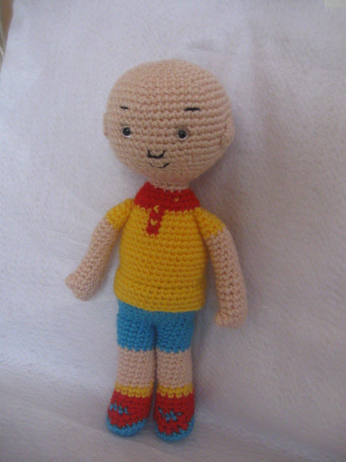 Yaseminkale: amigurumi free pattern caillou, orgu oyuncak ...