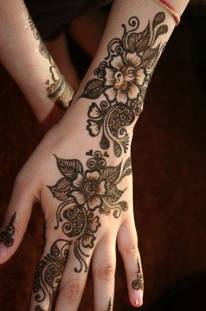 Mehndi Designs For Kids And Eid : Eid mehndi designs for girls wallpapers