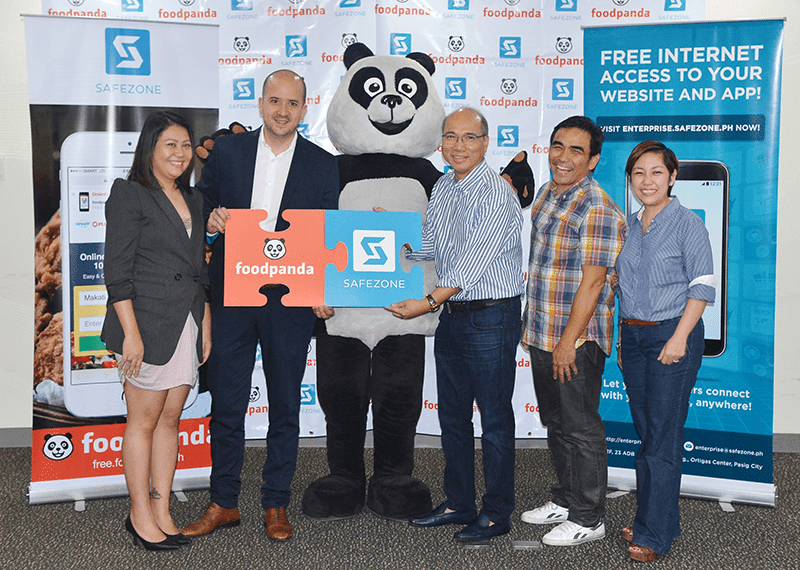 Foodpanda Partners With Voyager Innovations For SafeZone: Now Comes With Free Data Access To Purchase Food Online! (Press Release)