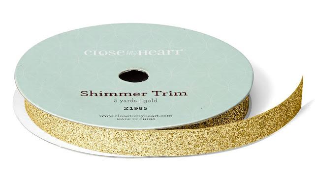 Gold Shimmer Trim