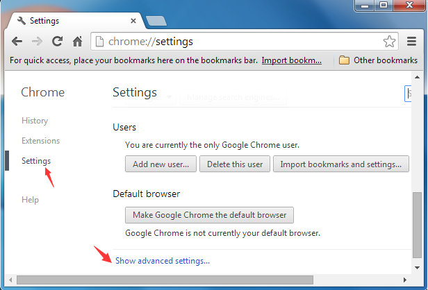 how to delete adchoices popups mozilla