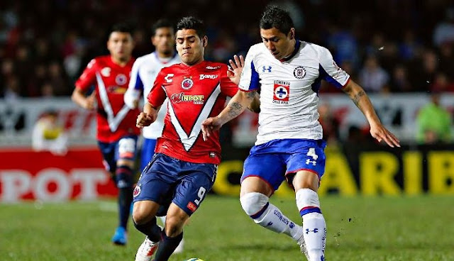 Ver partido Cruz Azul vs Veracruz en vivo