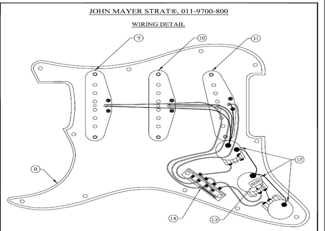 Nice Jimi Hendrix Strat Wiring Diagram Ideas - Electrical and ...