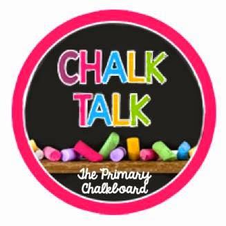 Primary Chalkboard Chalk Talk Vlog Hop