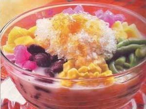 Resep Es Campur Kacang Merah Rumput Laut Berbagi