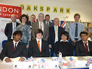 Yesterday afternoon I joined students at Oaks Park High School in Redbridge . (oaks park high school link up )