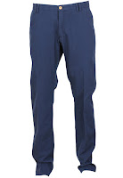Pantaloni Massimo Dutti Unia Dark Blue