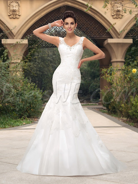 cheap wedding dresses at Dresswe.com