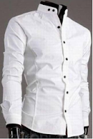 Buy Aamnas White Cotton Casual Shirt at just Rs.175 only via paytm  : BuyToEarn