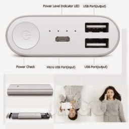 Buy 16000 mah Power Bank With Two Charging Slot at Rs. 515 only