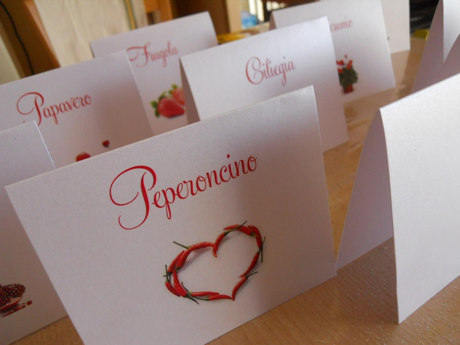 Tema Matrimonio In Rosso : Eventilab matrimonio in rosso