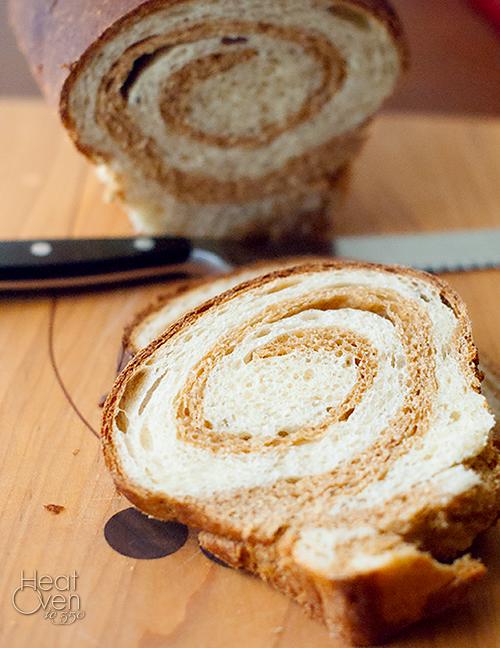 Swirled Yeast Bread