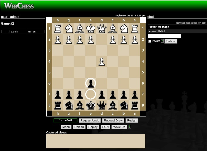 Lets play chess together. It is free!