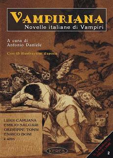Vampiriana. Novelle italiane di vampiri, 2011, copertina