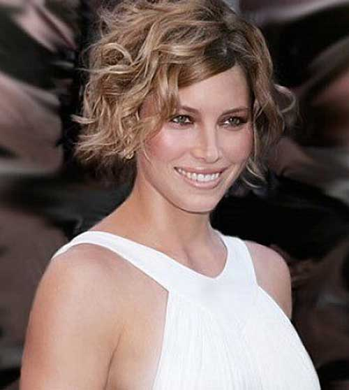 8 New Short Curly Hairstyles For Oval Faces  Best Haircuts