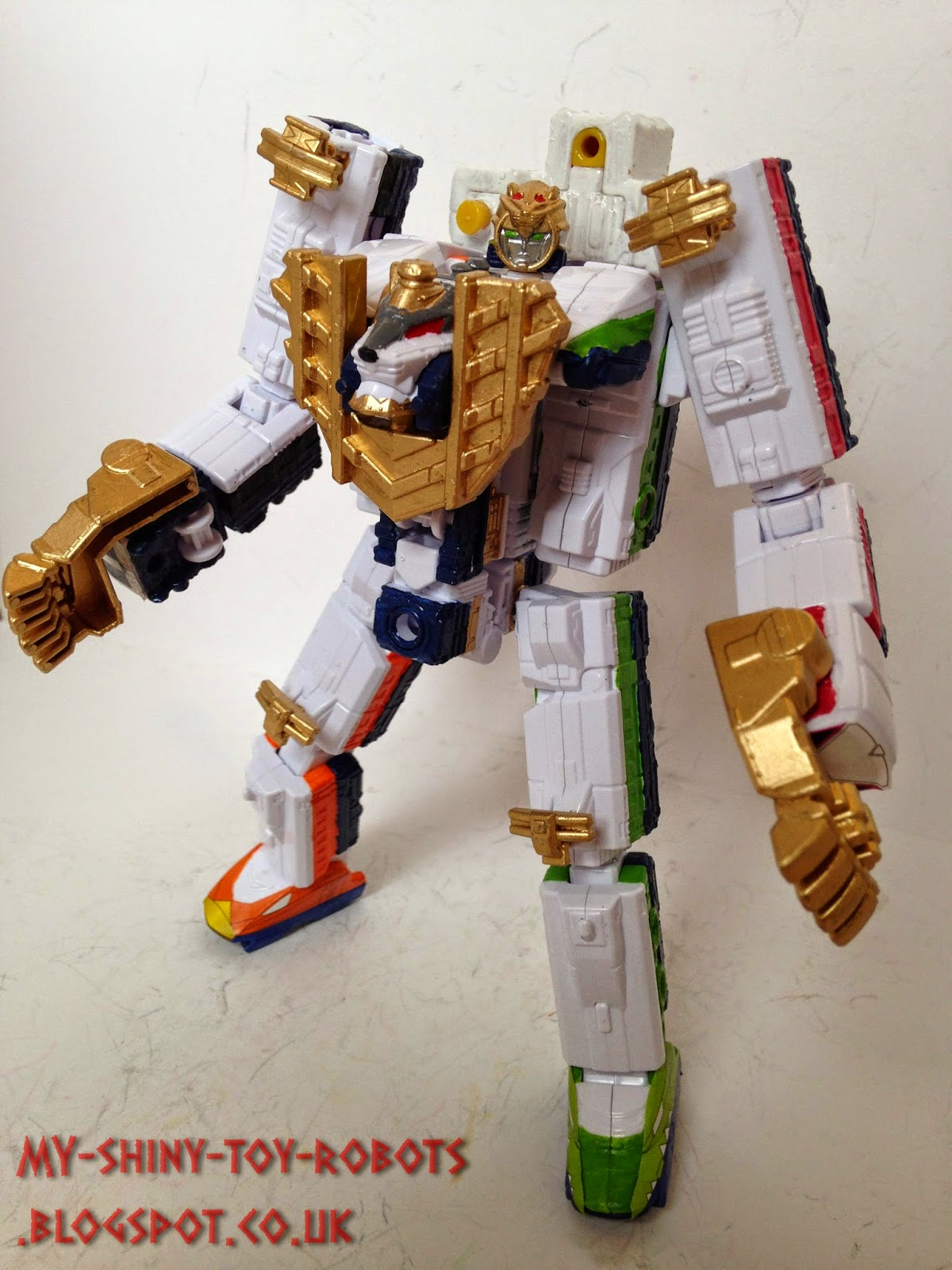 Safari GaOh robot mode