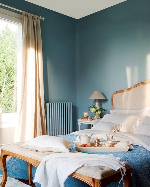 El calder ideas de decoraci n una habitaci n azul un - Habitaciones amarillas ...