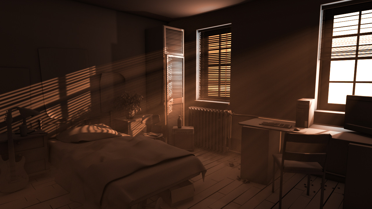 Maya Lighting (Working in progress) & 3D Lighting and Rendering Artist: Maya Lighting (Working in progress)