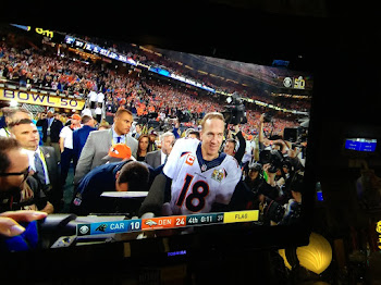 Manning and Broncos Win Super Bowl. 24-10
