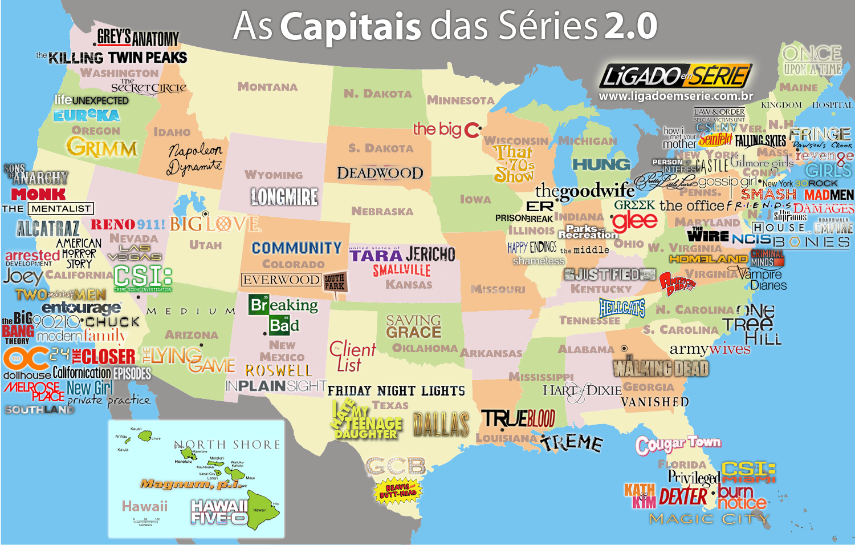 Virginia Mapa Estados Unidos
