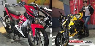 Wow!! Pakai Rangka Baru, All-New Honda CB150R Makin Kokoh Dengan Sang Adik New Honda Sonic Yang Baru Lahir...!
