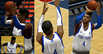 NBA 2K14 Nerlens Noel Kentucky