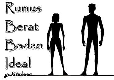 Rumus Berat Badan Ideal