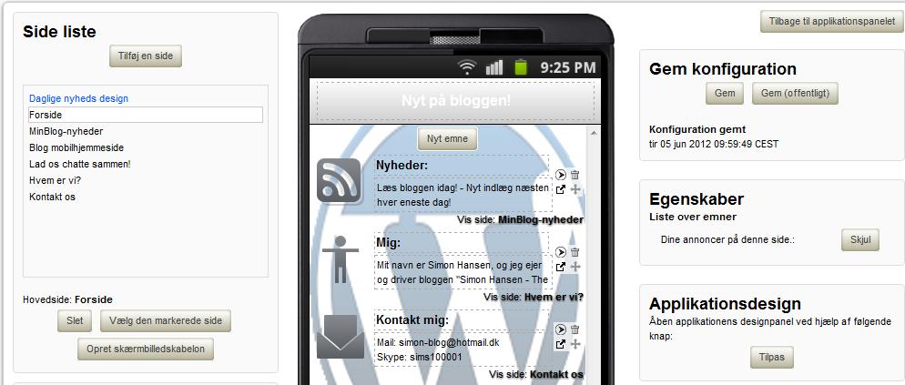 lav din egen app til iphone gratis