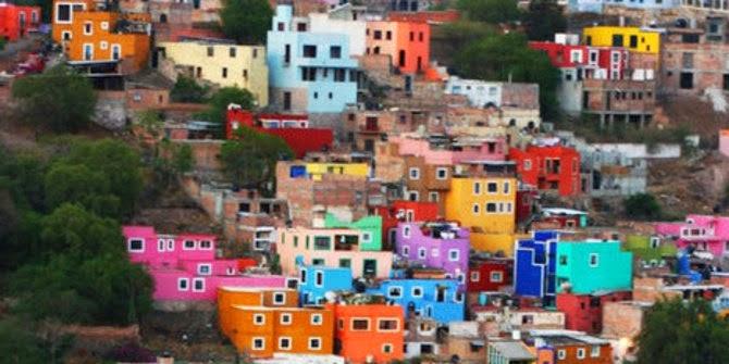 Kota Paling Penuh Warna Warni