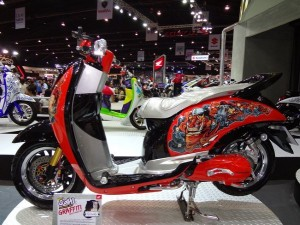 Modifikasi Honda Scopy