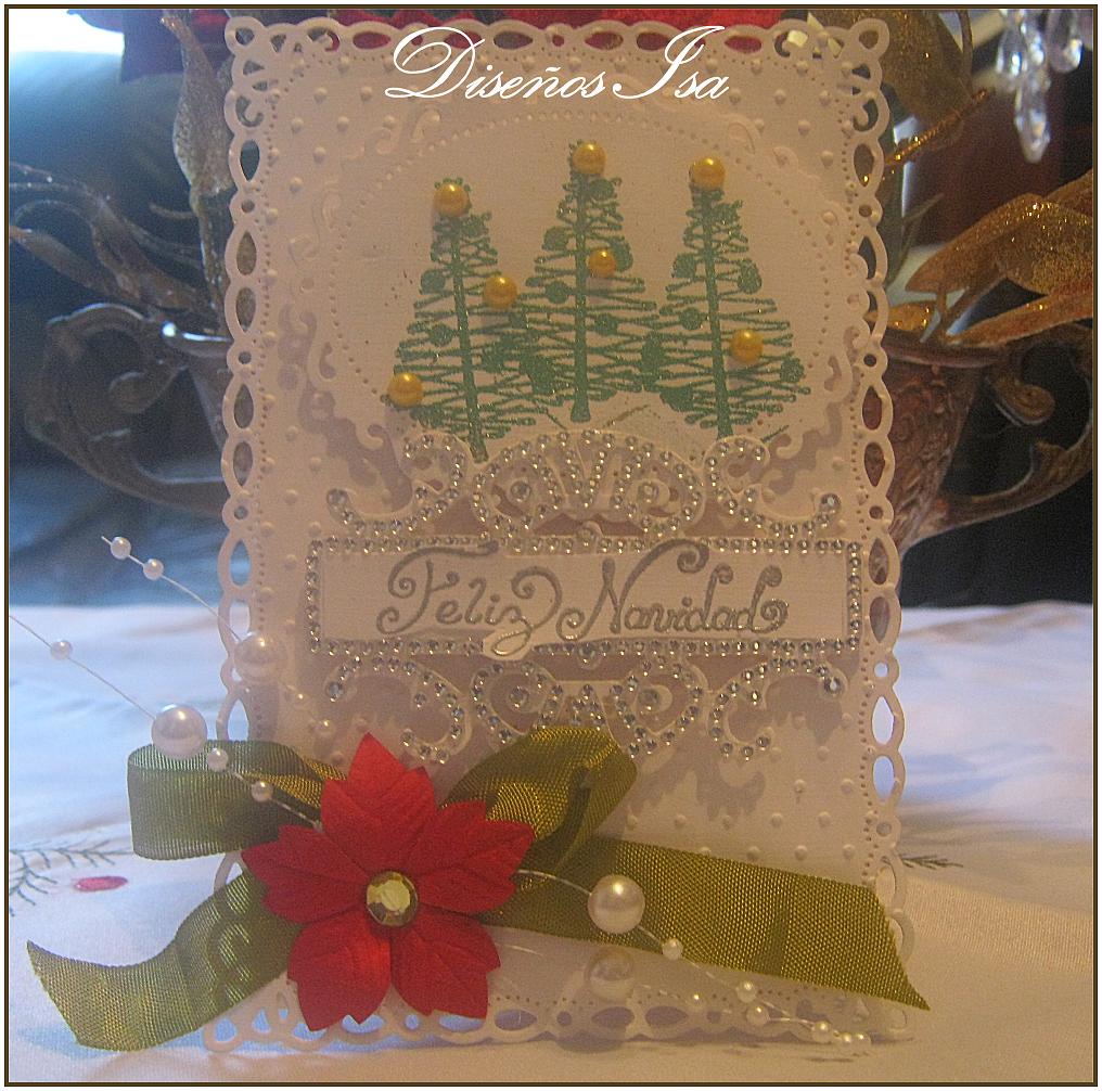 Dise os isa tarjeta navidad para creative ideas challenges - Ideas para postales de navidad ...