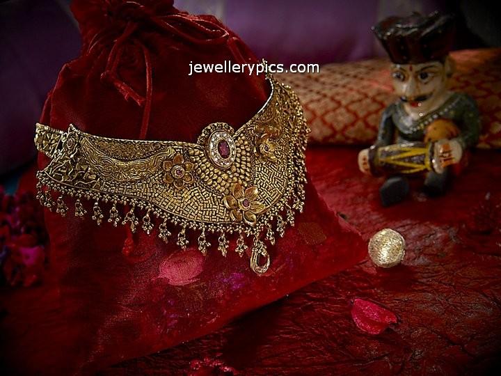 Best Antique Choker Necklace Designs By Neelkanth