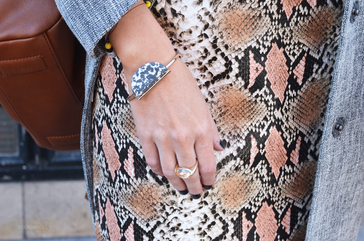 ASOS bangle on Rock On Holly