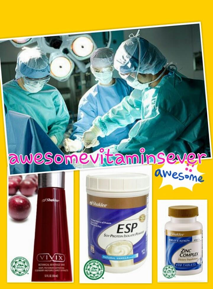 supplement untuk pembedahan
