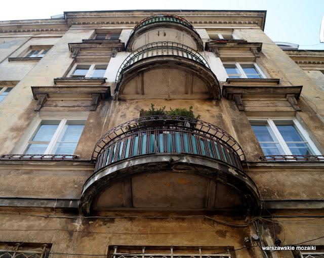 Warszawa Praga Północ Szmulowizna dom balkon pracowniczy zajezdnia tramwajowa  Juliusz Dzierżanowski