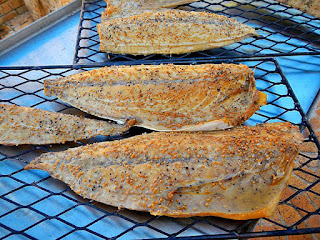 Smoked snoek fish is what South Africa is eating for dinner.