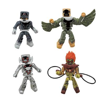 "Marvel Secret Wars ""Age of Ultron vs. Marvel Zombies"" Minimates Box Set by Diamond Select Toys"