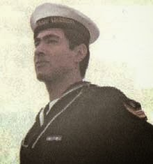 Engine Able Seaman José Raúl Ibañez in 1983