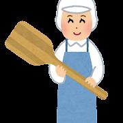 給食の調理師のイラスト