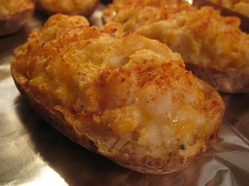I Hope You Re Hungry Twice Baked Shrimp Stuffed Potatoes