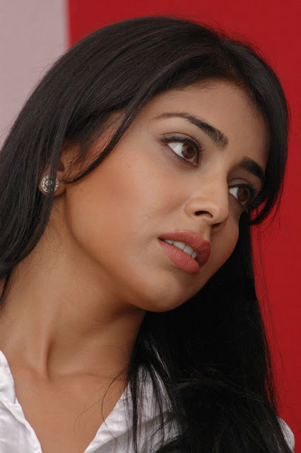 Shriya Saran Face Expression
