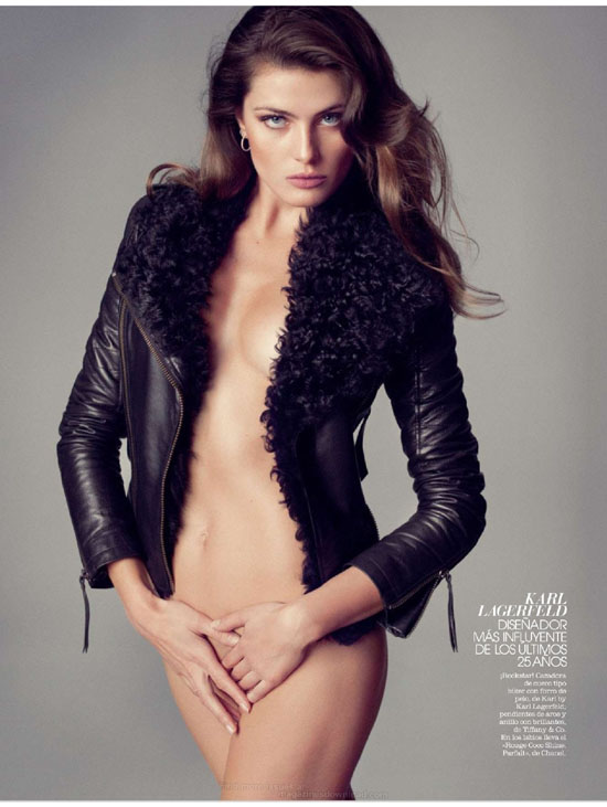 Isabeli Fontana - Marie Claire (Spain) December 2012