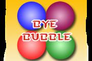 ¡Diviértete con Bye Bubble!