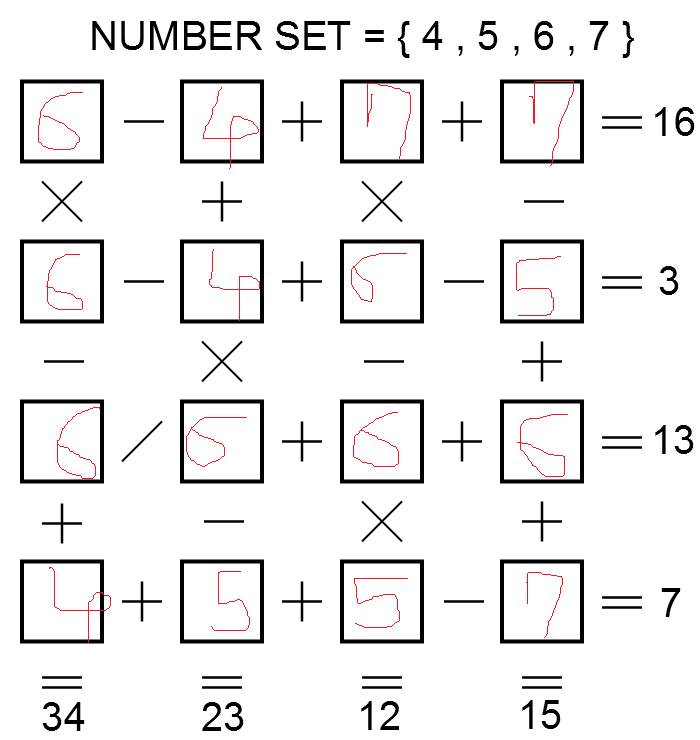 solutions  solution to puzzle no 77